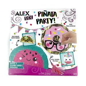 Alex Toys | DIY Piñata Set of 2 Birthday Craft Set